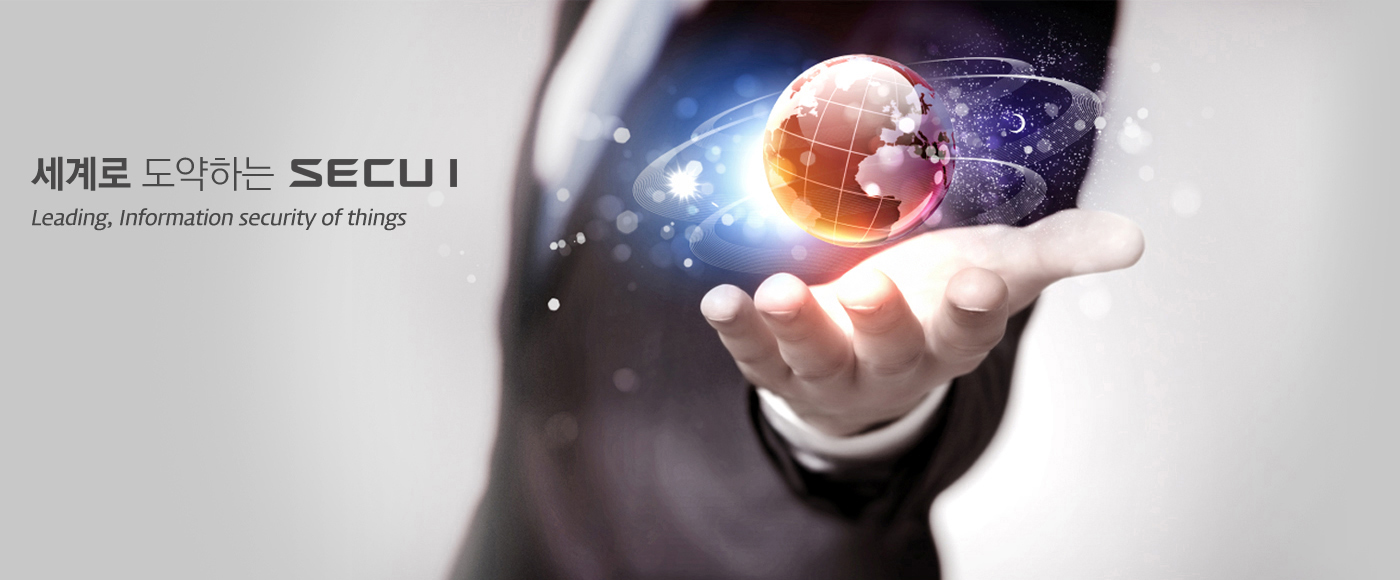세계로 도약하는 SECUI Leading, Information security of things